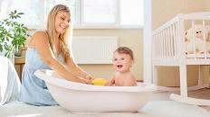 Ваните с морска сол са полезни за деца