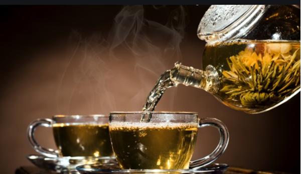 пиенето на чай